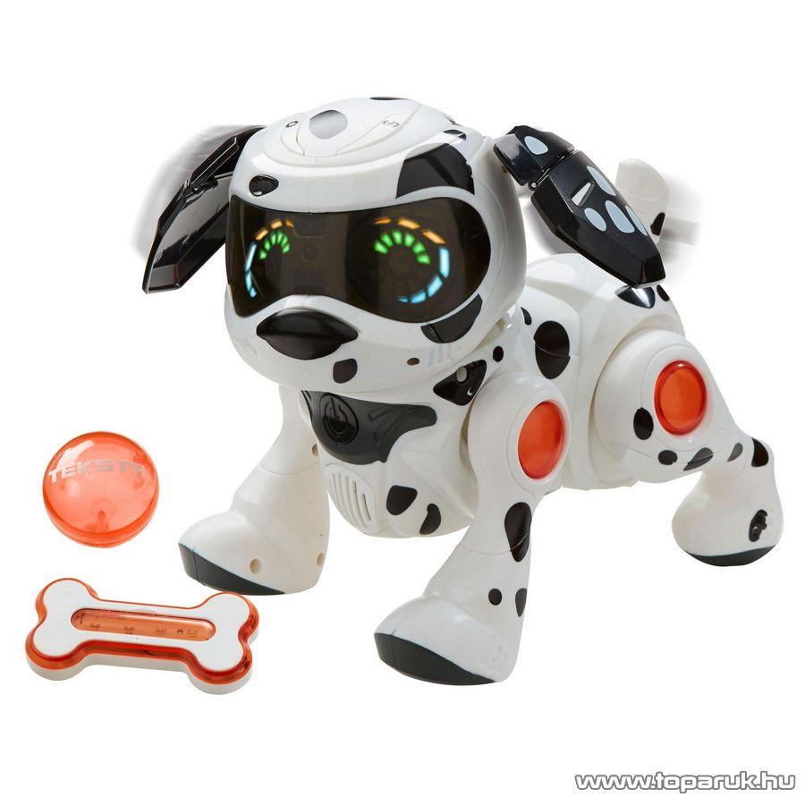 TEKSTA Robot kutyus, interaktív játék kutya, Dalmata - készlethiány