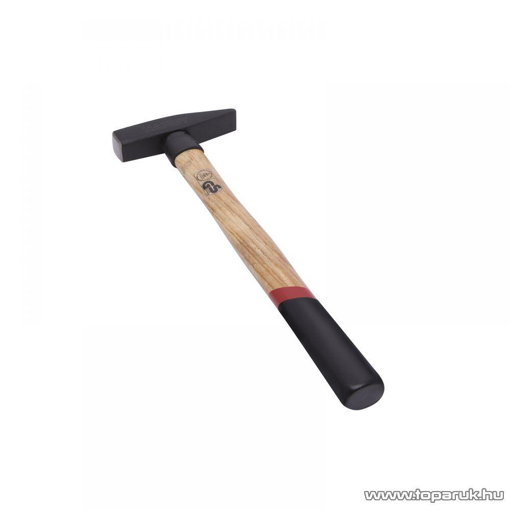 Handy Kovácsolt, nagy teherbírású kalapács csúszásmentes, ergonomikus keményfa nyéllel, 0,3 kg (10416)