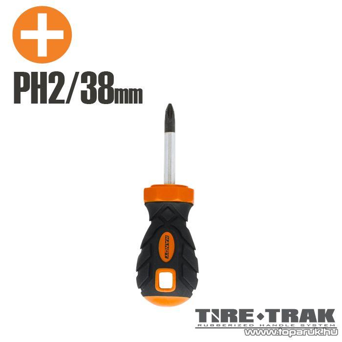 Handy TIRE TRAK gumírozott nyelű csavarhúzó, PH2 (10525)