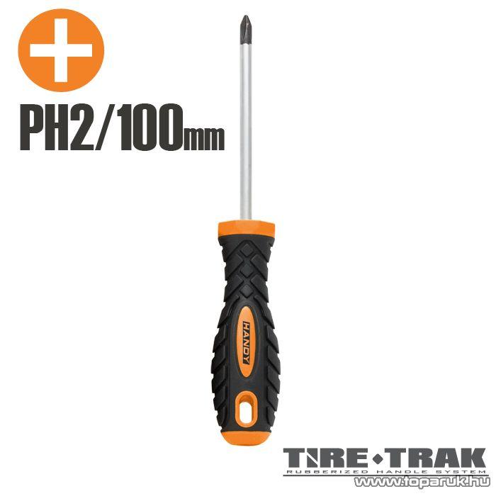 Handy TIRE TRAK gumírozott nyelű csavarhúzó, PH2 (10526)