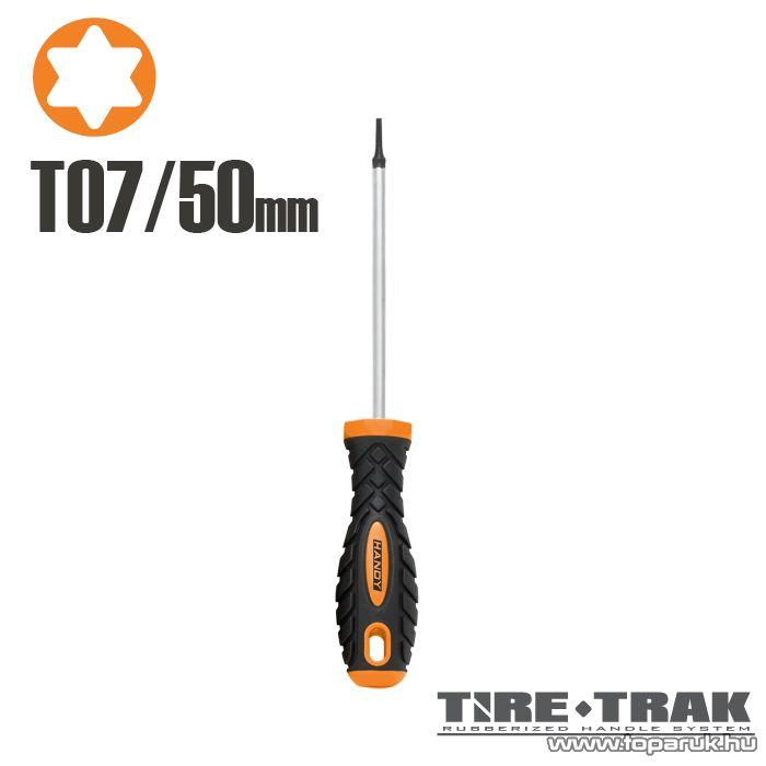 Handy TIRE TRAK gumírozott nyelű csavarhúzó, T7 (10533)