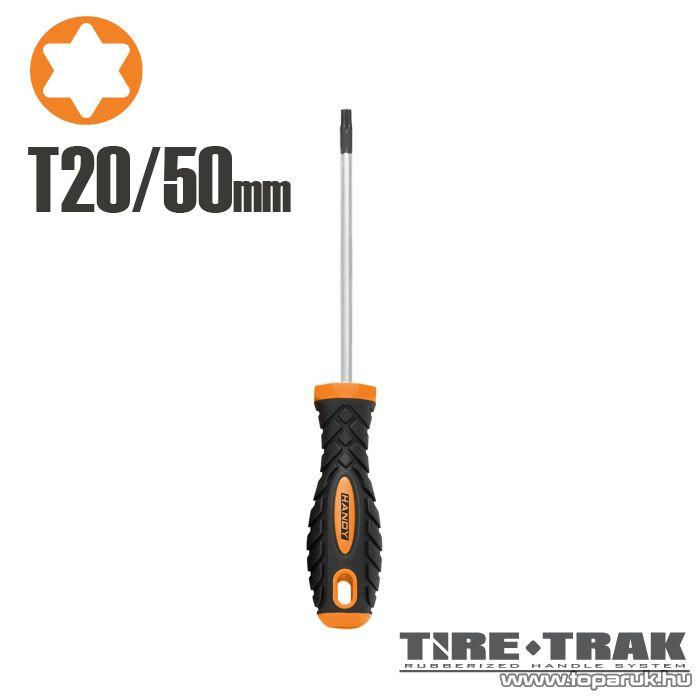 Handy TIRE TRAK gumírozott nyelű csavarhúzó, T20 (10538)