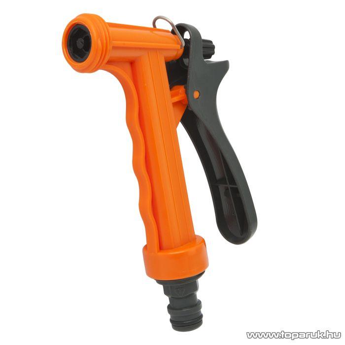 Locsoló pisztoly, menetes, műanyag (11340B) - megszűnt termék: 2015. április