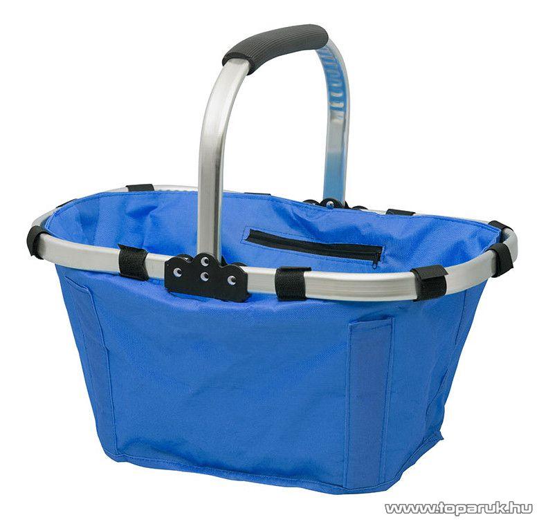 Összehajtható bevásárlókosár, kék (11540BL)