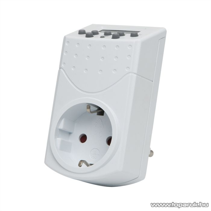 Digitális kapcsolóóra 230V, 8.7A, max 2000W (20291)