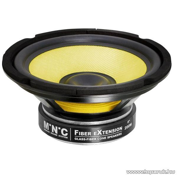 """MNC Fiber eXtension FX hangszóró 8""""-os (20 cm-es) 100/200 W, 4 ohm (30824) - megszűnt termék: 2015. június"""