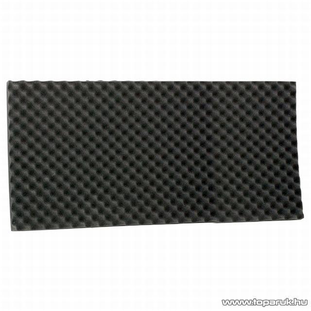 Hangtompító szivacs, 50 x 100 cm, fekete, 1 db (39502X) - készlethiány