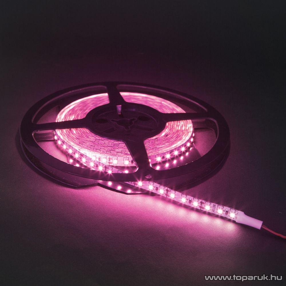 Phenom LED szalag, 5 m, 120 LED, rózsaszín - pink (41007P)