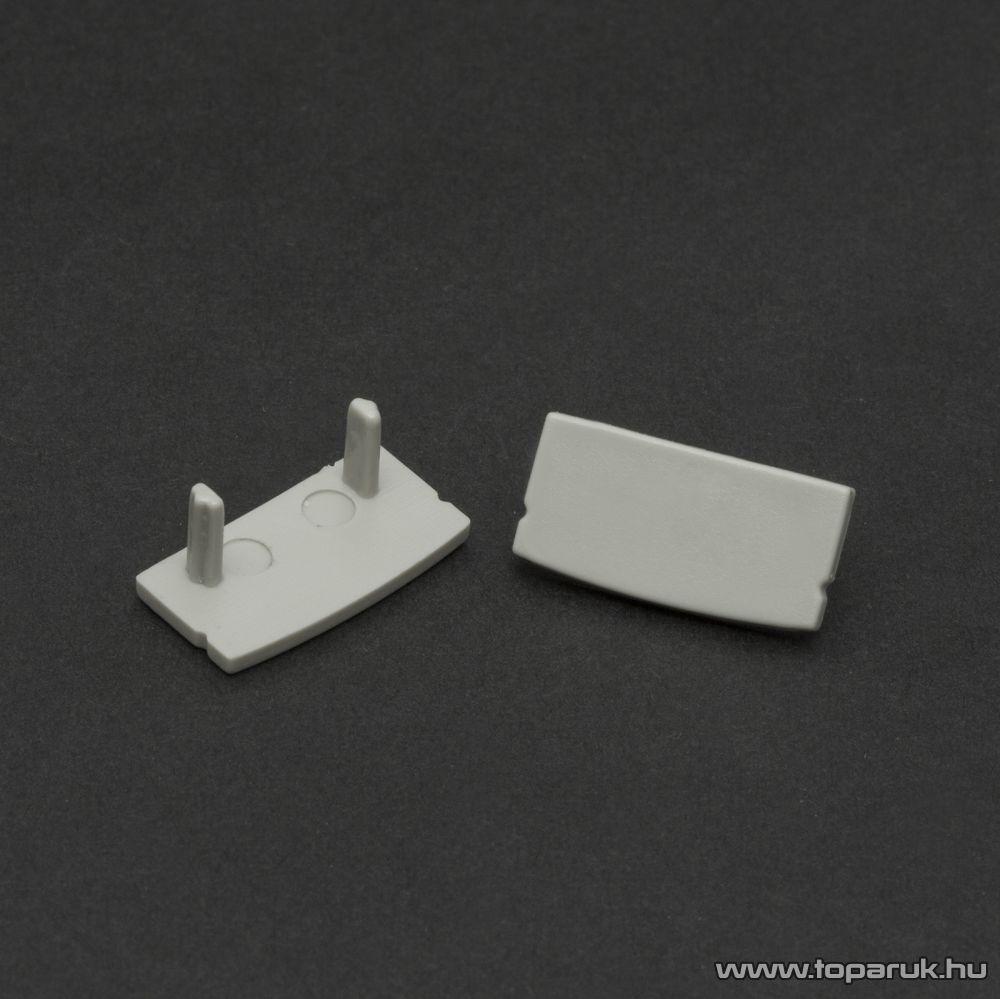 Phenom 41010E műanyag profil végzáró elem a 41010 típusú sínhez, szürke, 2 db / csomag