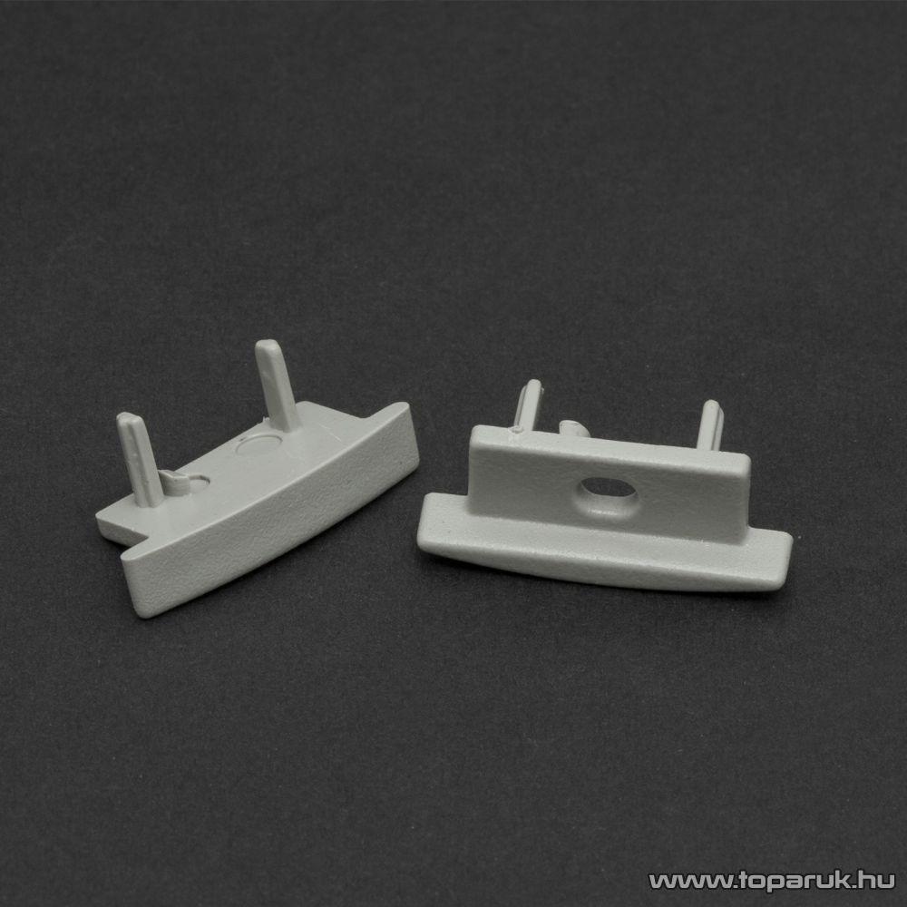 Phenom 41011E műanyag profil végzáró elem a 41011 típusú sínhez, szürke, 2 db / csomag