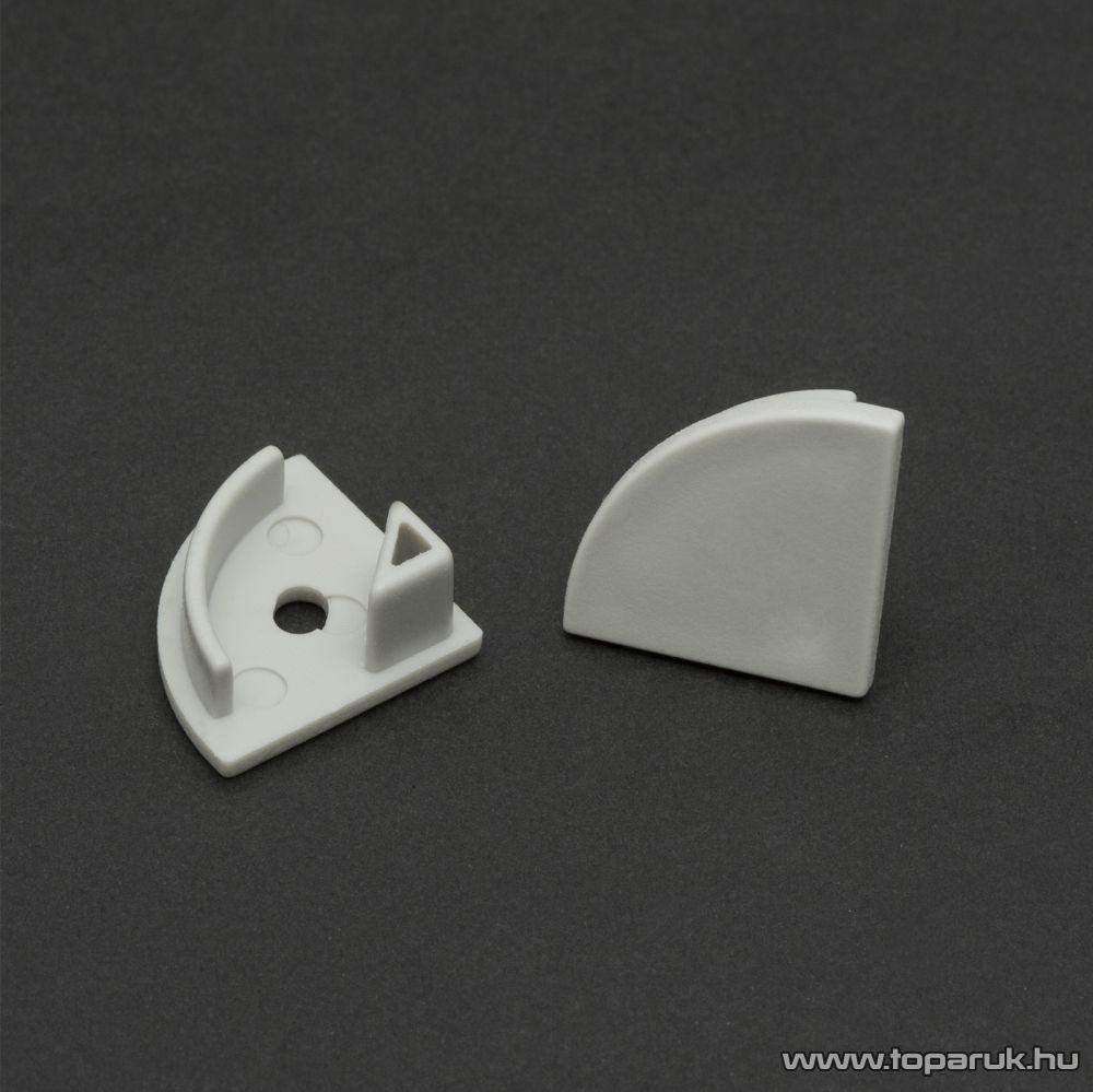 Phenom 41012E műanyag profil végzáró elem a 41012 típusú sínhez, szürke, 2 db / csomag