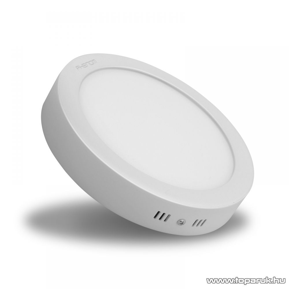 Phenom 42004W LED panel lámpa 18W, kör, melegfehér fényű világítással