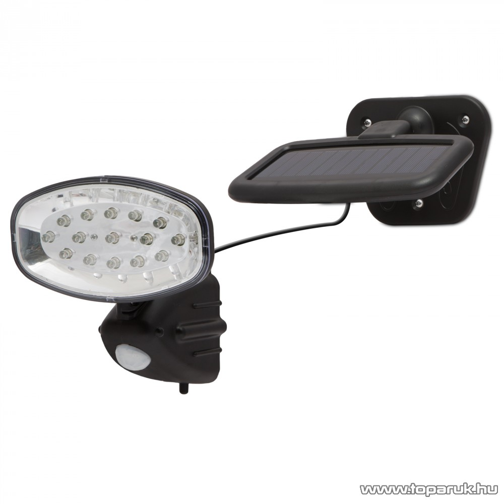 LED-es szolár kültéri lámpa - mozgás és fényszenzorral (55269)