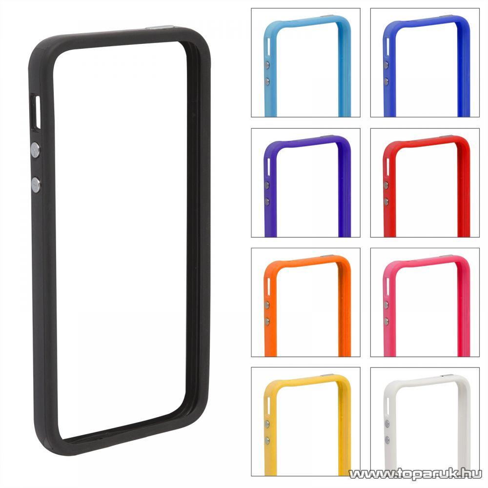 iPhone SE / 5 / iPhone 5S védőkeret, bumper, színes (55403B) - megszűnt termék: 2016. július