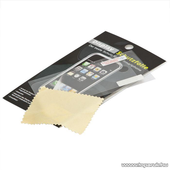 iPhone kijelzővédő fólia + törlőkendő iPhone 4, iPhone 4S (55410)