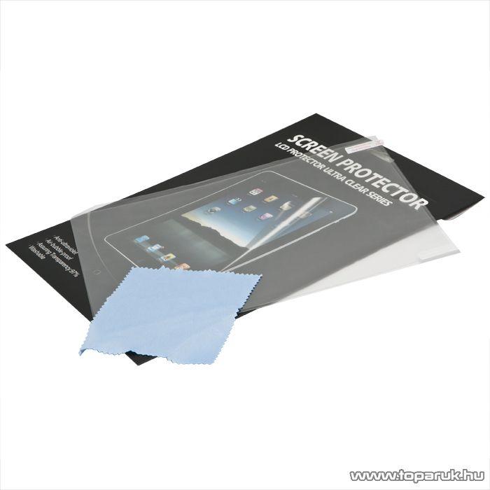 iPad kijelzővédő fólia (védőfólia) + törlőkendő iPad 2, iPad 3 (55411)
