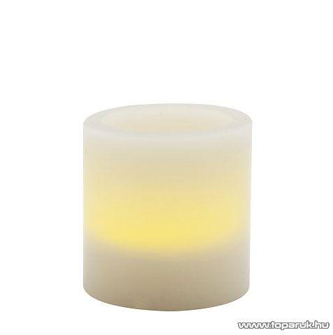 LED-es viaszgyertya, 50 x 50 mm (56068A) - készlethiány