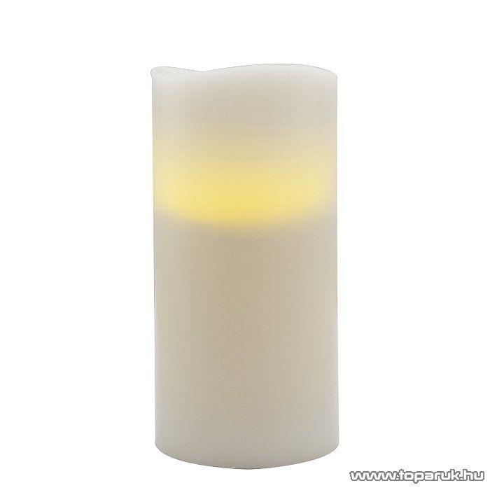 LED-es elfújható viaszgyertya, 150 x 73 mm (56069B) - megszűnt termék: 2014. november