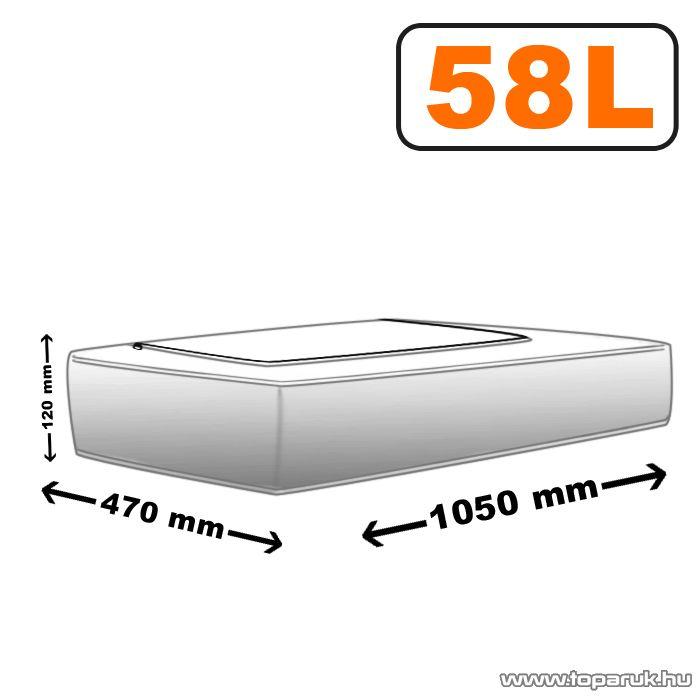 Ágy alatti tároló, 47 x 105 cm, 58 L (57003) - megszűnt termék: 2014. július