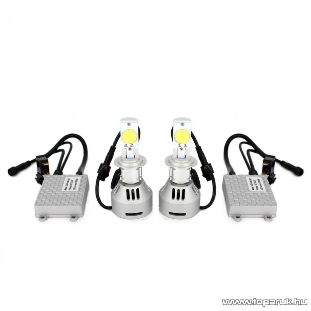 Carguard CREE LED izzó szett, H7 foglalattal, 1 pár / csomag (50909)