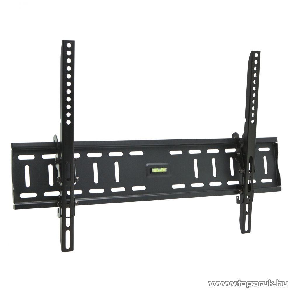 Delight LCD TV Fali tartókonzol, dönthető, fekete (39692)
