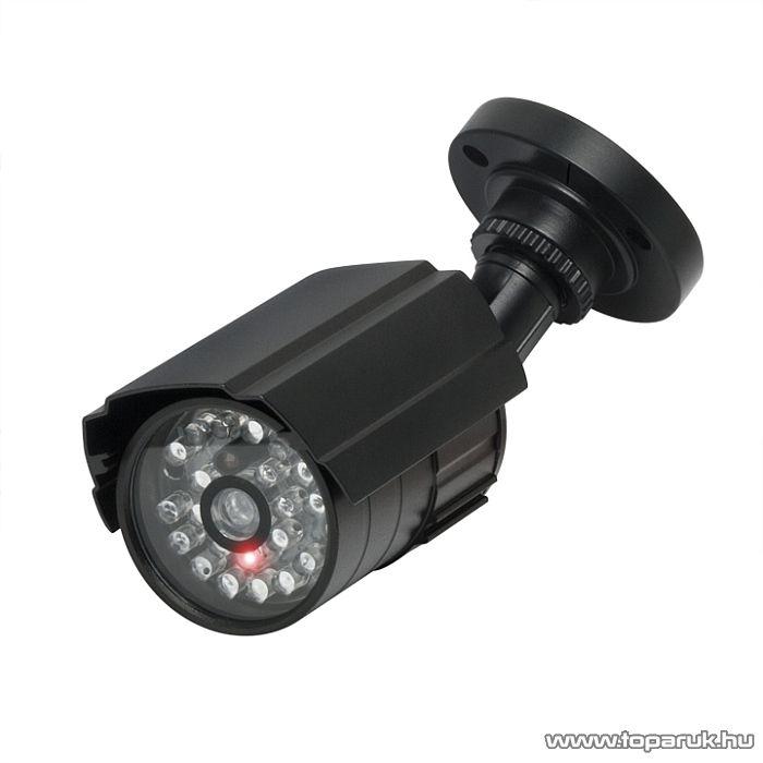 Delight Biztonsági álkamera, 2 x AA, fekete (55275)