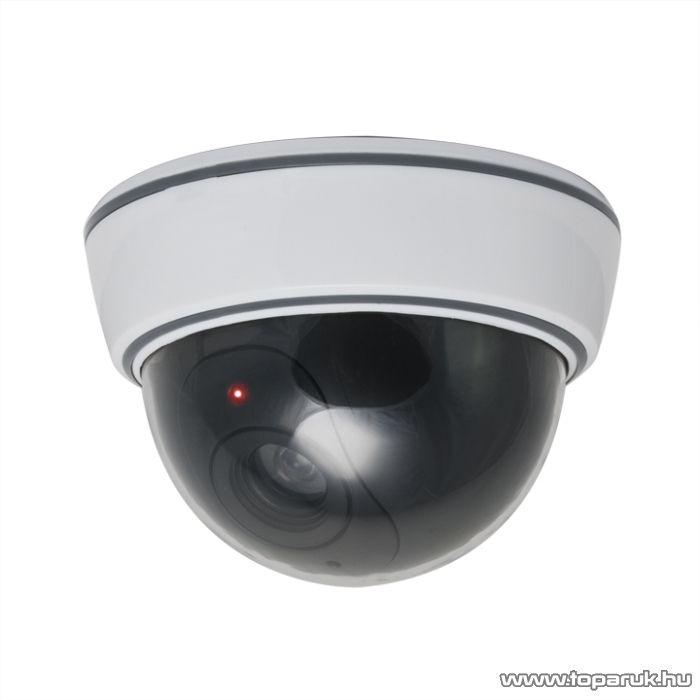 Delight Biztonsági álkamera, 3 x AA, fehér (55305)