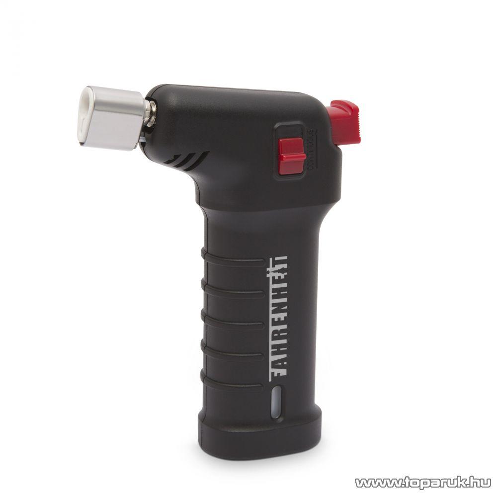 Fahrenheit Újratölthető gázos forrasztópáka / kézi flambírozó (28510)