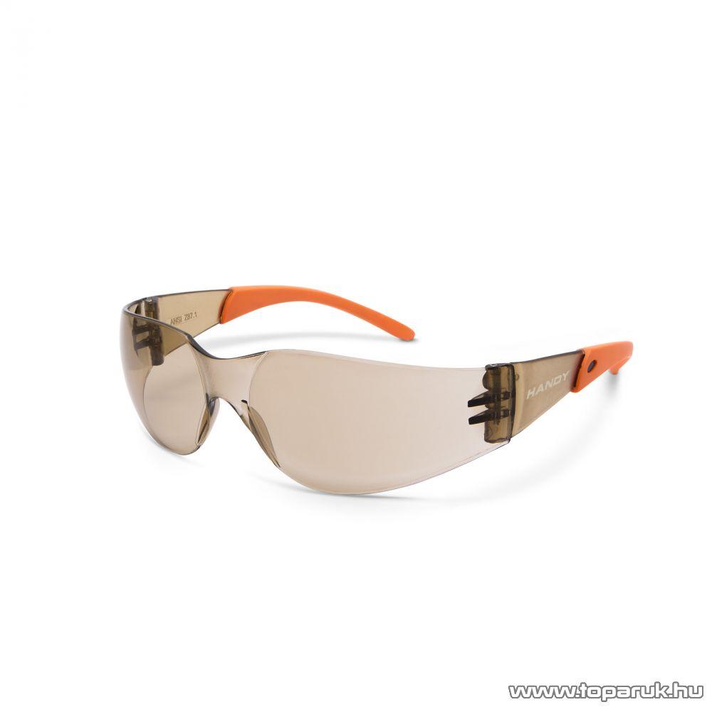 Handy Professzionális védőszemüveg, UV védelemmel, amber (10381AM)