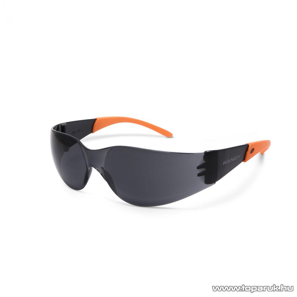 Handy Professzionális védőszemüveg, UV védelemmel, szürke/füst (10381GY)