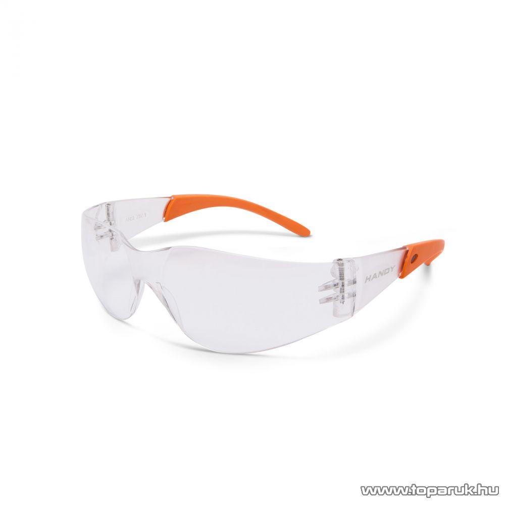 Handy Professzionális védőszemüveg, UV védelemmel, átlátszó (10381TR)