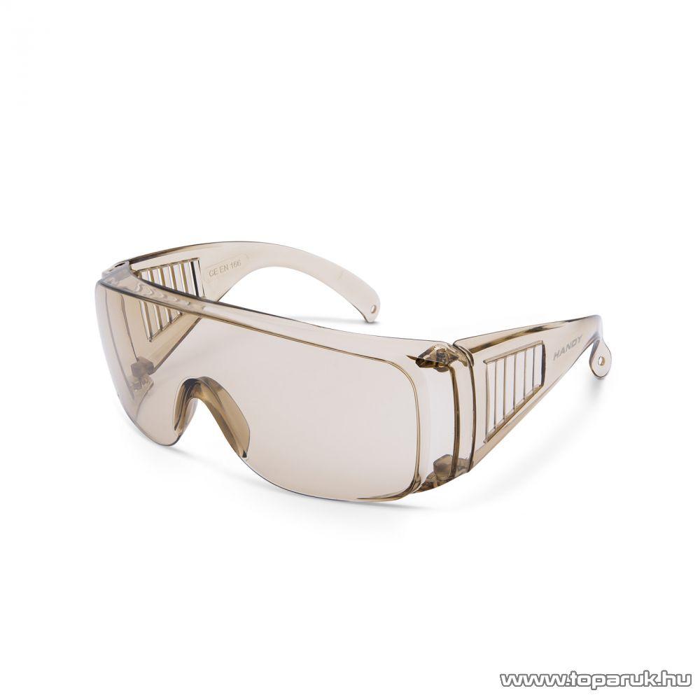 Handy Professzionális védőszemüveg, UV védelemmel, amber (10382AM)