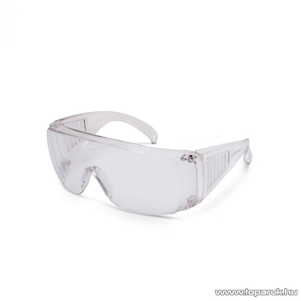 Handy Professzionális védőszemüveg, UV védelemmel, átlátszó (10382TR)