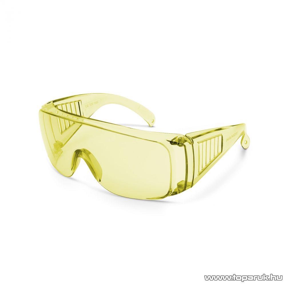 Handy Professzionális védőszemüveg, UV védelemmel, sárga (10382YE)