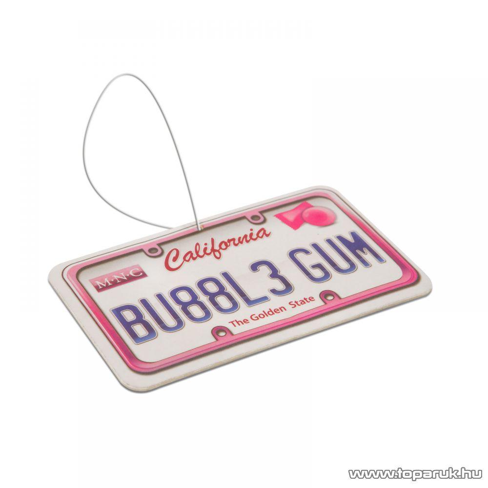 Autó illatosító (USA államok rendszámtábláját mintázó autóillatosító), Bubble gum