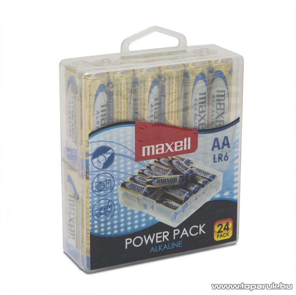 Maxell 18720P Power Pack Ceruza elem, 1,5V, (AA, LR6 méret), 24 db / csomag