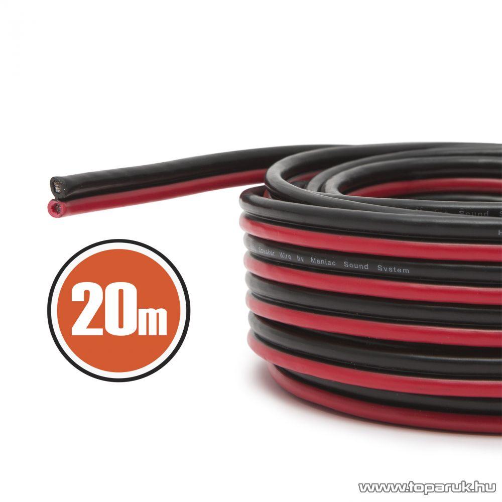 MNC Hangszórókábel 2 x 0,5 mm2, hosszúsága 20 m (NX20082x20)