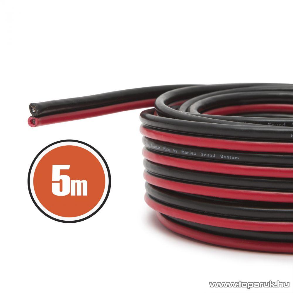 MNC Hangszórókábel 2 x 0,75 mm2, hosszúsága 5 m (NX20083x5)