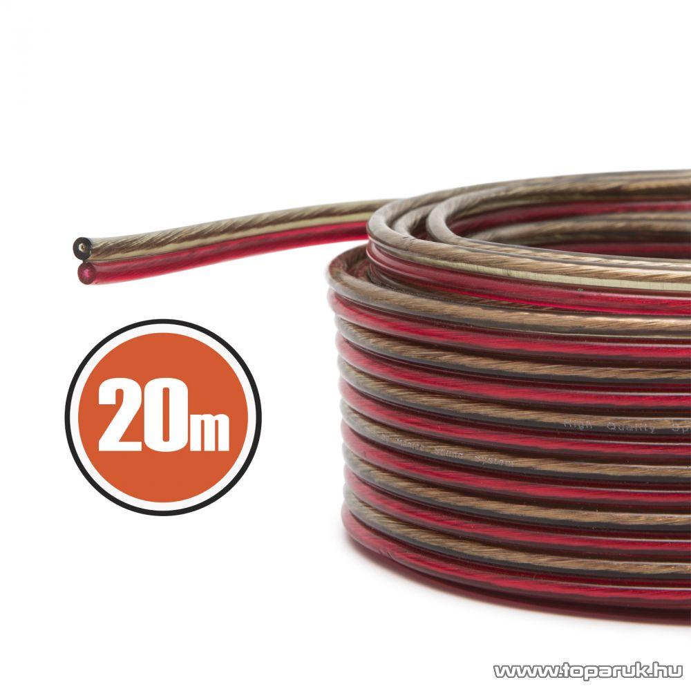 MNC Hangszórókábel 2 x 1,0 mm2, hosszúsága 20 m (NX20024x20)