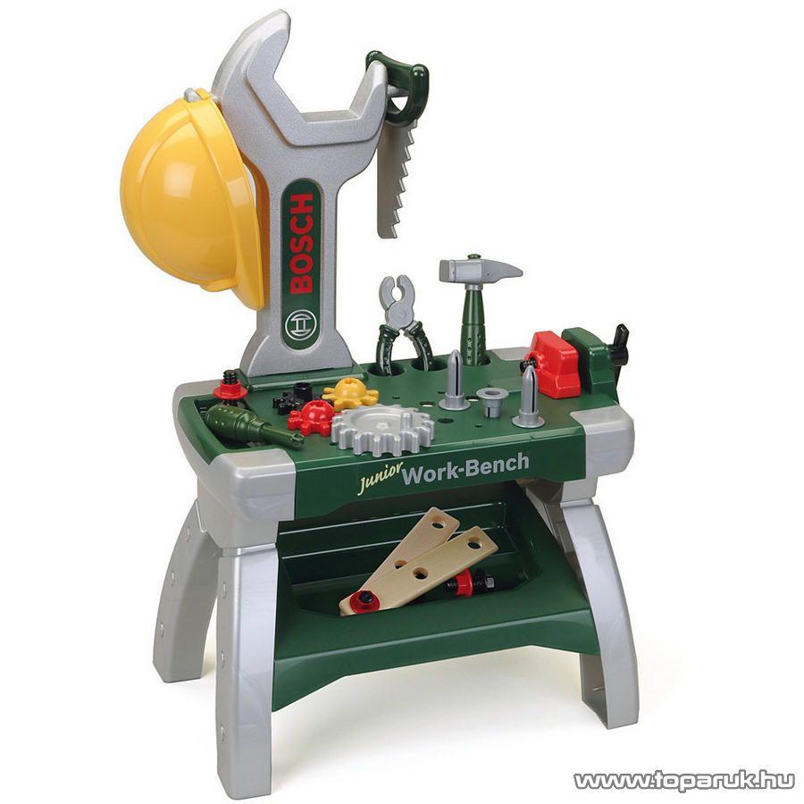 Klein Bosch Junior 71 cm magas szerelő asztal, 20 tartozékkal (szerelőasztal) - készlethiány