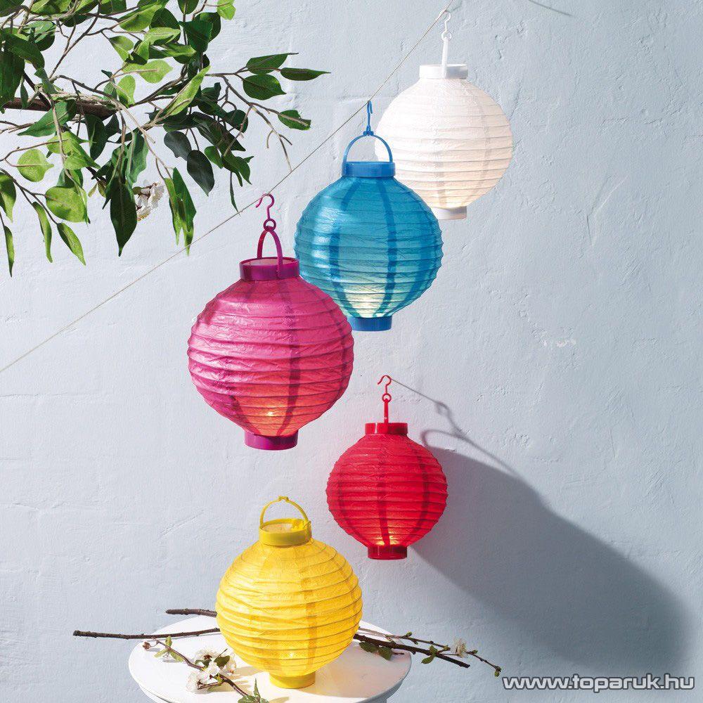delight LED-es kültéri kerti lampion, 1 LED, több színben