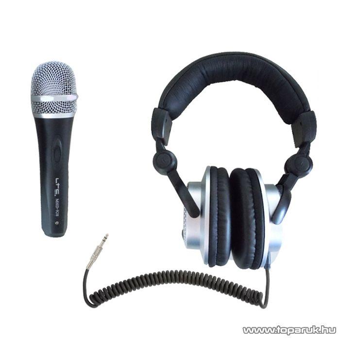 LTC MHD 928 DJ fejhallgató és dinamikus mikrofon (L153035)