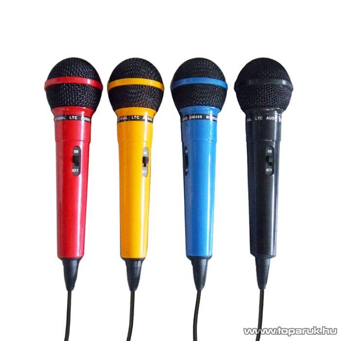 LTC DM 400 Dinamikus mikrofon szett (L153017) - megszűnt termék: 2014. november