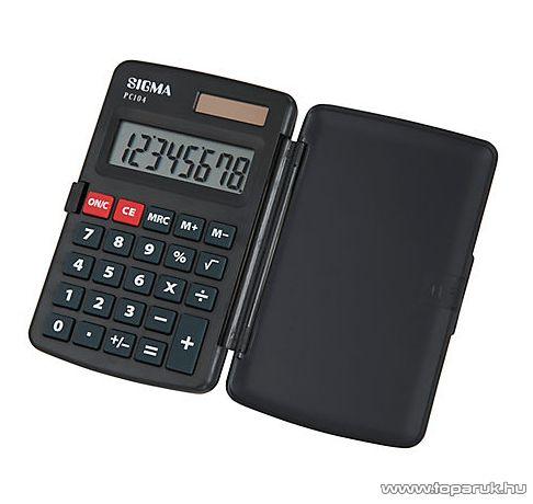 Sigma PC 104 zseb számológép
