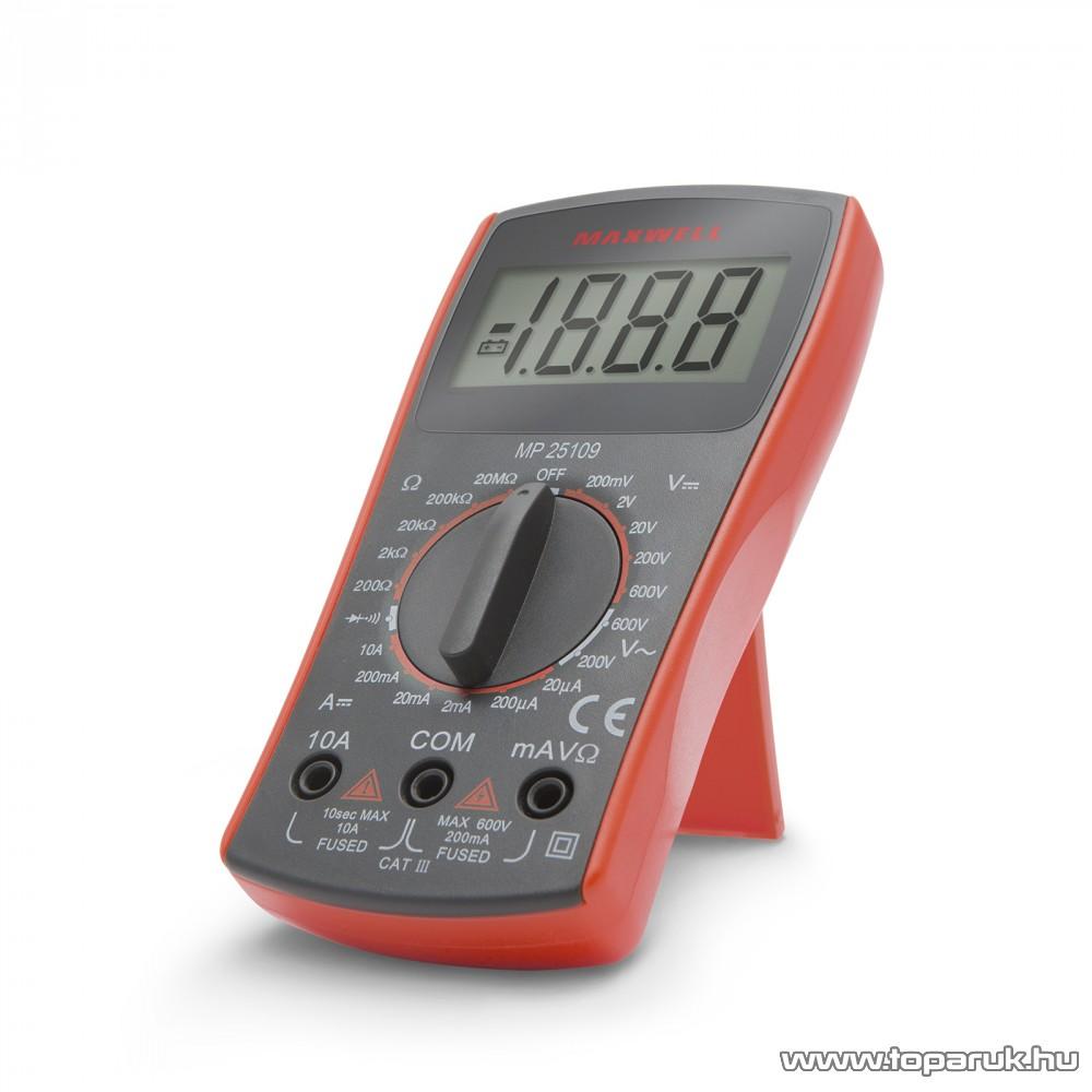 Maxwell MX-25 109 Digitális multiméter (25109)