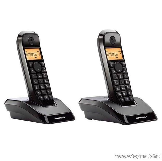 Motorola S 1202 Duo Vezeték nélküli DECT telefon - készlethiány
