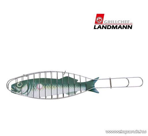 Landmann 0147 Halsütő, krómozott, 42 x 9 cm