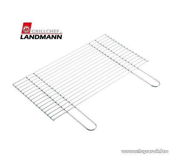 Landmann 0187 Grillrostély, krómozott, 57.8 x 30 cm