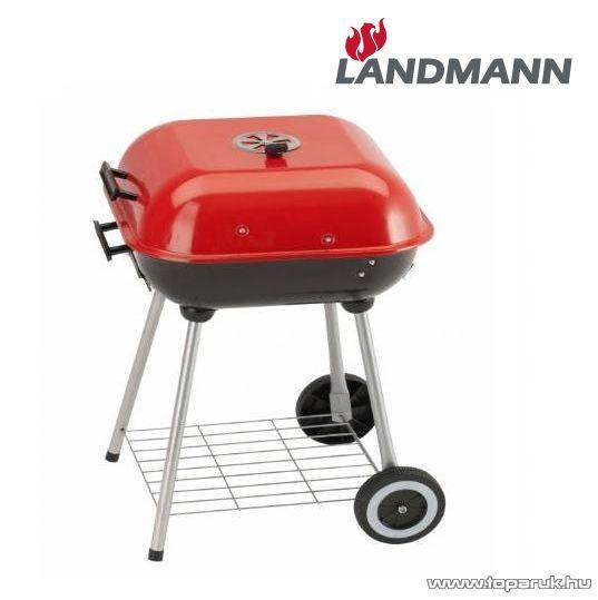 Landmann 0511 Party grillkocsi, piros színű (6 személyes)