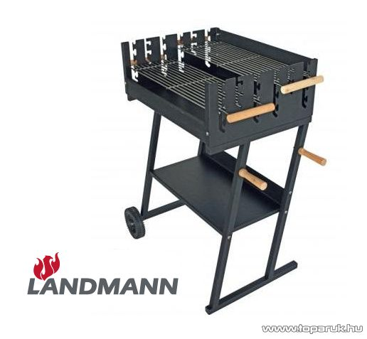 Landmann 11470 faszenes party grillkocsi (14 személyes) - készlethiány